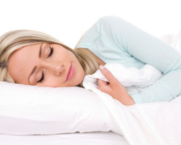 cara tidur yang nyenyak