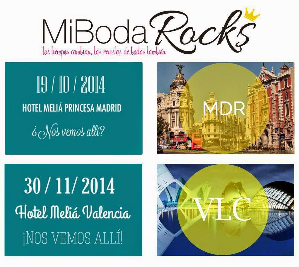 Exhibicion Mesas Banquete Boda decoradas por Wedding Planners Madrid y Barcelona