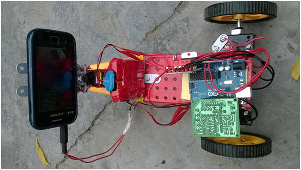 dtmf controlled car Dtmf controlled robot using arduino uno.