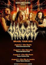 Vader Brazil tour 2013