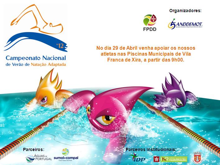 A vida num s dia campeonato nacional de ver o de nata o for Piscina 29 de abril telefono