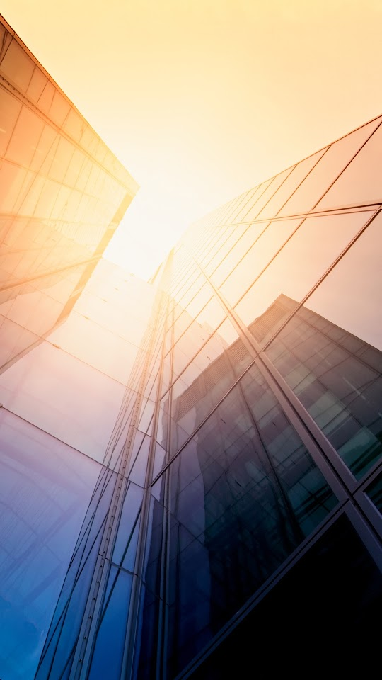 Tall Glass Offices Sunlight  Galaxy Note HD Wallpaper