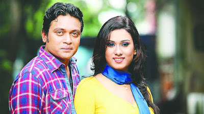 Bangladeshi film actor Anisur Rahman Milon With Bobby
