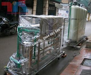 Hệ thống dây chuyền lọc nước 2000lit/ h, dây chuyền lọc nước tinh khiết 2000 lít/