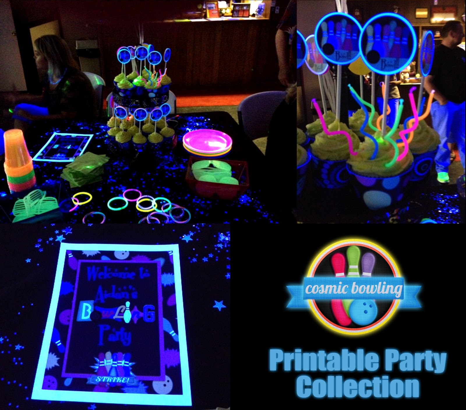 printable glow in the dark party invitations with awesome invitations layout - Black Light Party Invitations