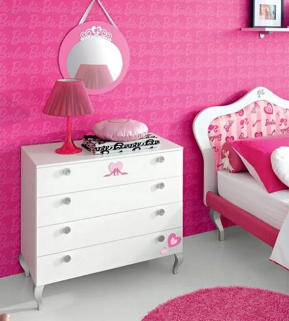 The Infantil Decora: Dormitorio Barbie - Un lugar de Ensueño para ...