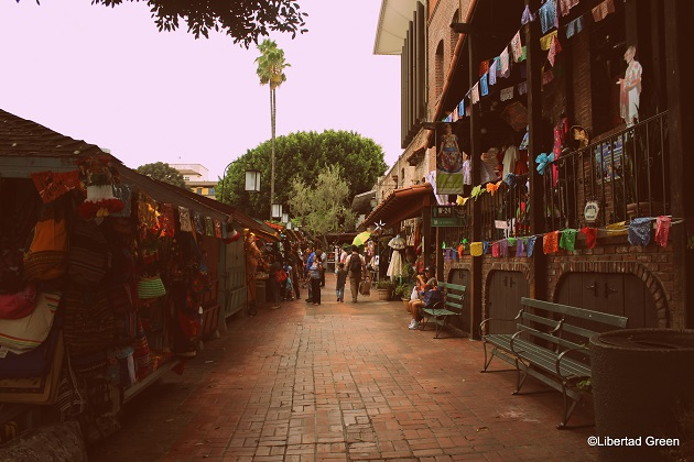 Olvera Street Los Angeles