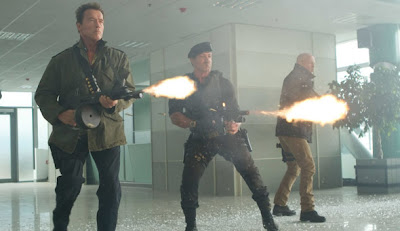 The Expendables, Sylvester Stallone, Bruce Willis, Jean-Claude Van Damme, Steven Seagal, cinema, film, Hollywood
