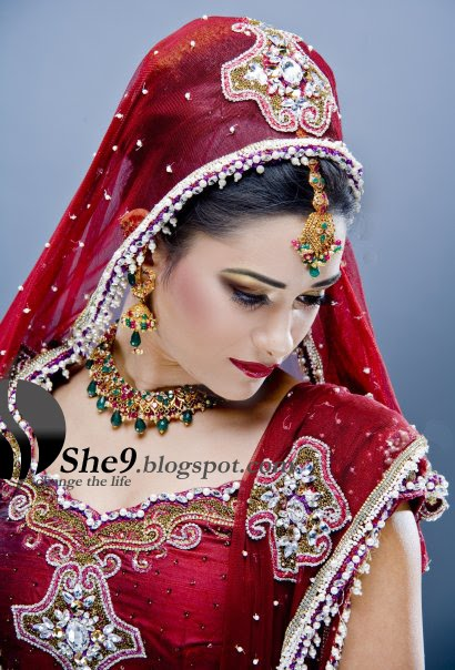 She fashion club traditional indian bridal makeup