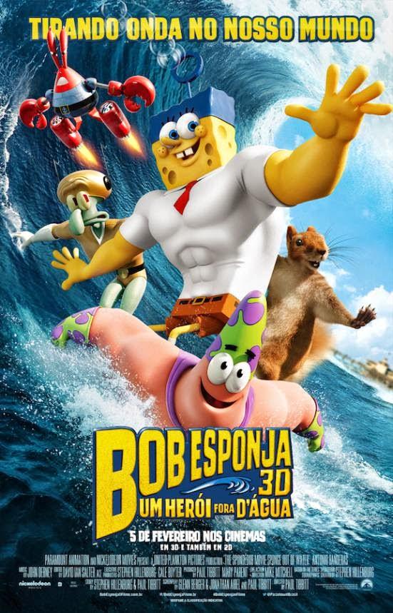 Bob Esponja – Um Herói Fora D'Água Dublado