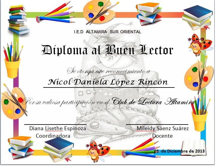 Diplomas de reconocimientos para jovenes - Imagui