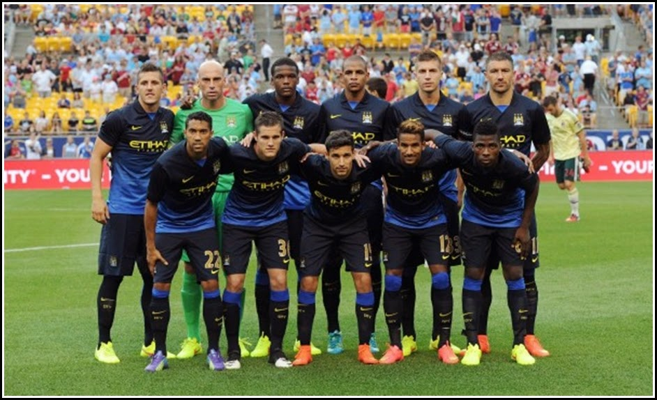 Manchester City Away Football Club 2015