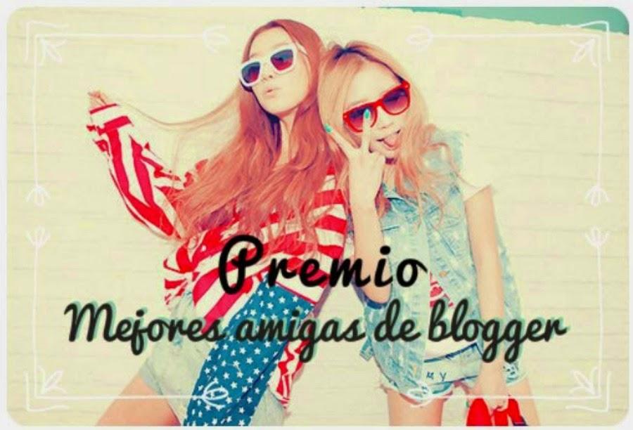 2 Premios Mejores amigas de blogger