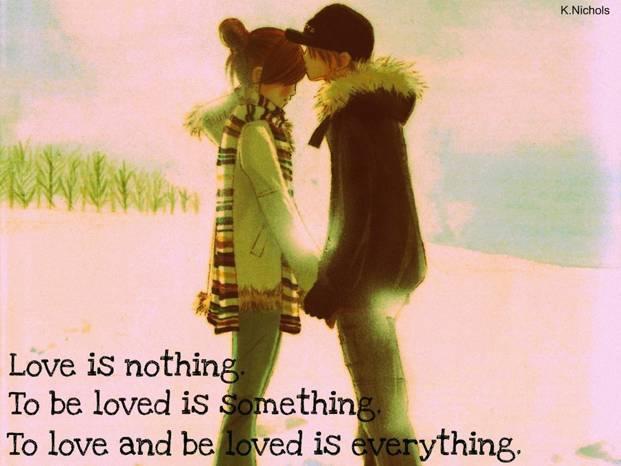 anime love quotes quotes about love