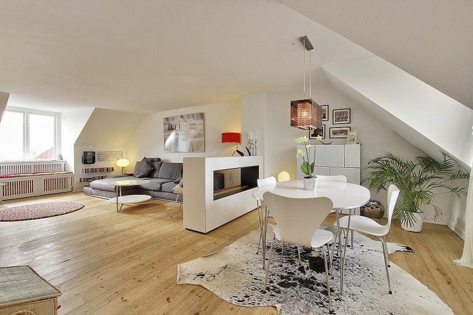 Apartemen Minimalis Bergaya Skandinavian