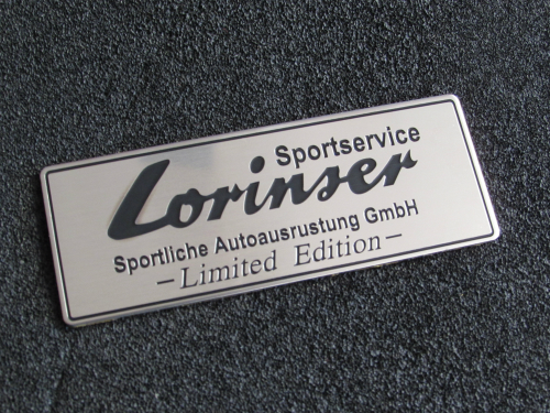 Emblem Lorinser Limited Edition