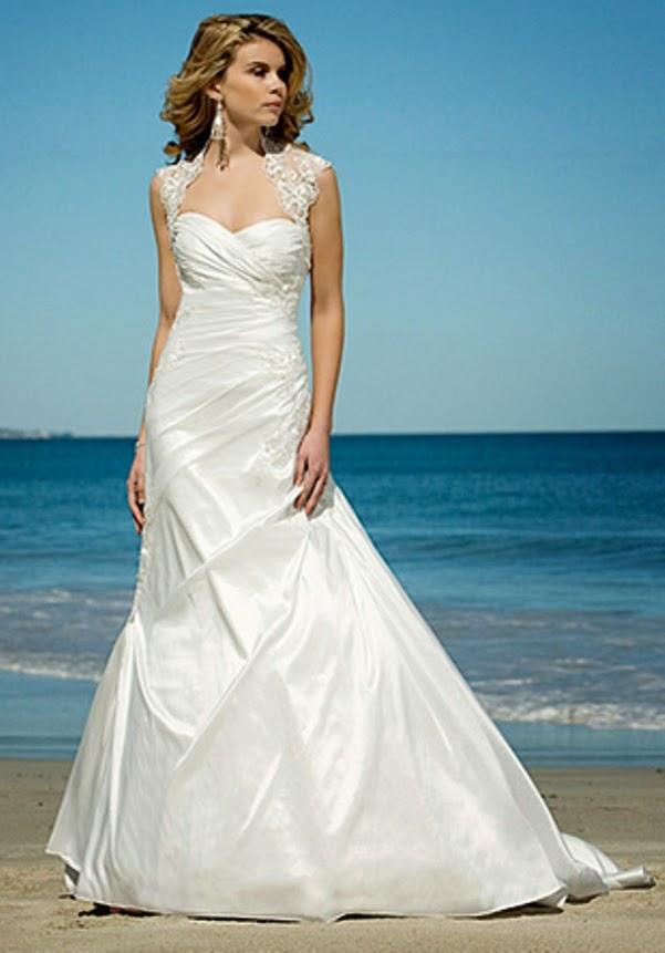 Beach Wedding Dresses 2014 for Young Bridal - Yoga Jasmine Camelia 03