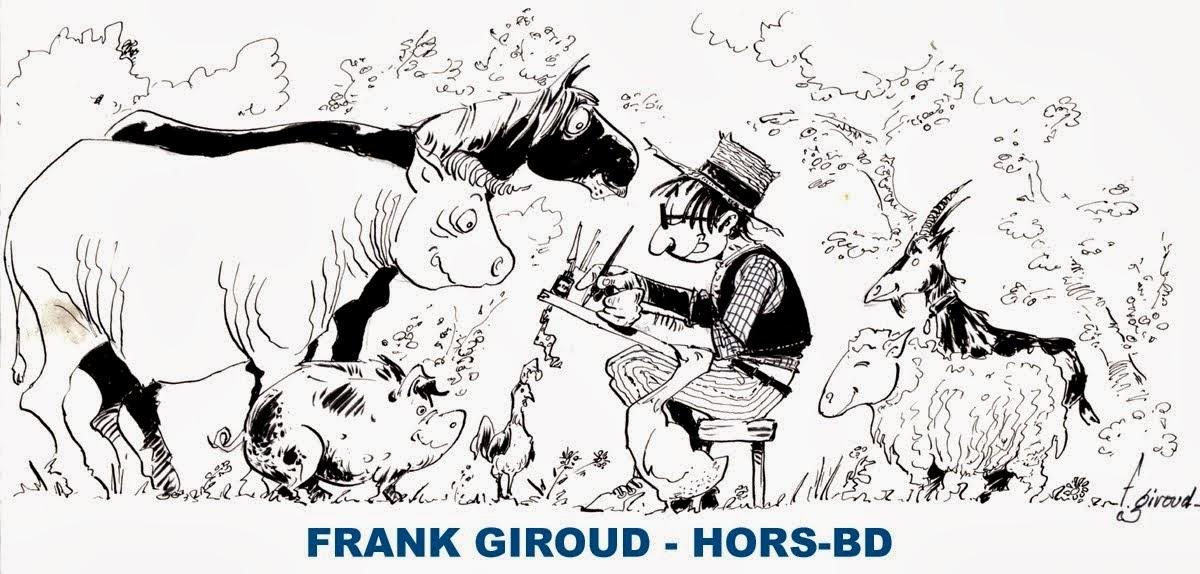 Frank Giroud - Hors BD