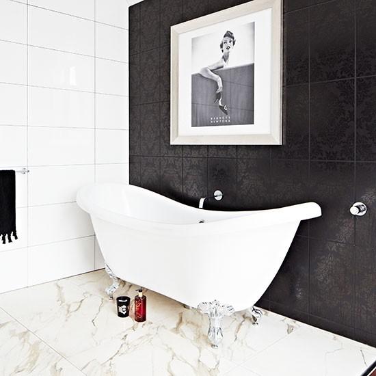 Una casa en melbourne muy hollywoodiense for Living etc bathroom ideas