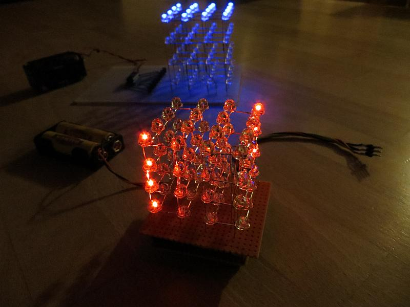 How To Build A Simple LED Cube 4x4x4   Part 1