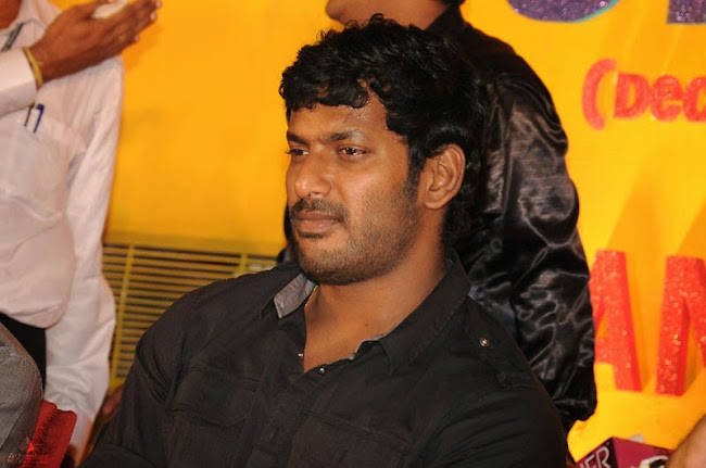 Vishal frustrated