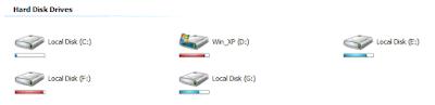 Vista Drive Icon Free Download