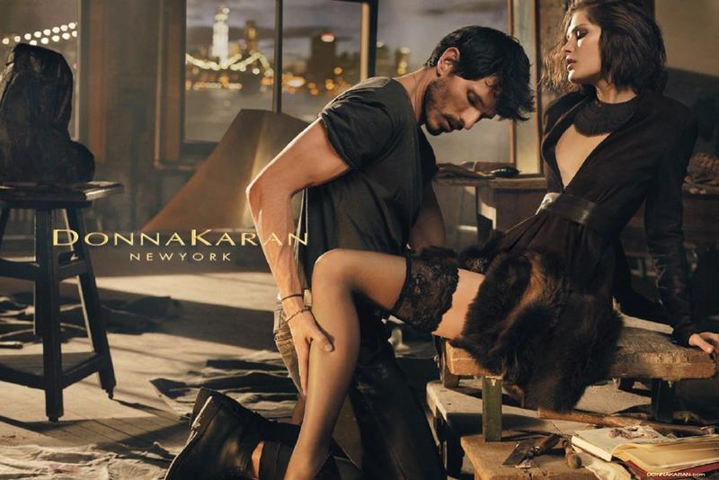 Donna Karan Fall 2013 Ad Campaign with Catherine McNeil and Andres Velencoso
