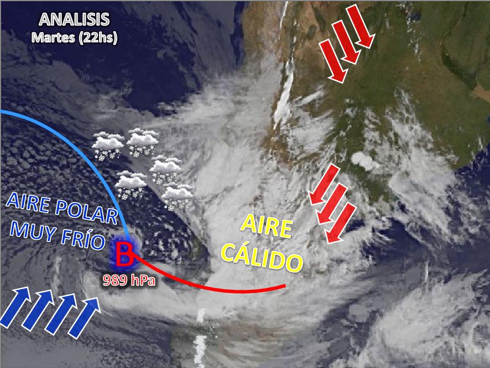 El mundo del tiempo sistema de mal tiempo sobre el sur for Mundo del espectaculo argentino