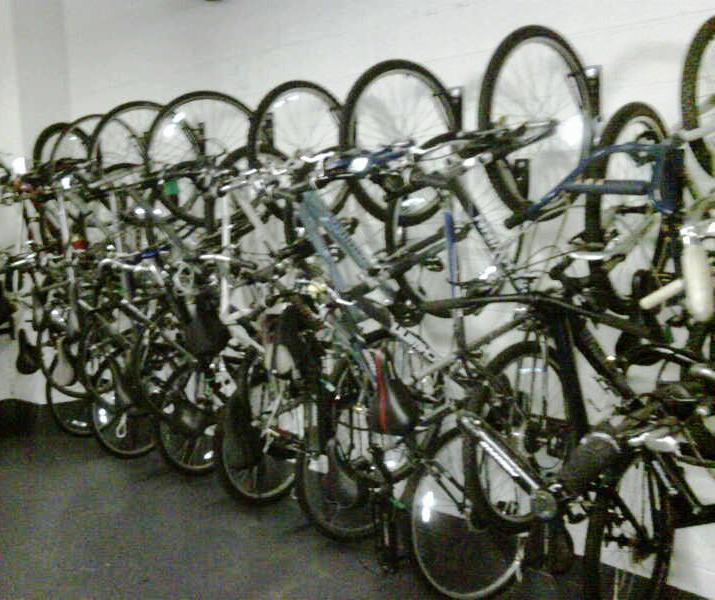 Jersey City Condo Building Turn Basement Into Amenity With New Bike Room