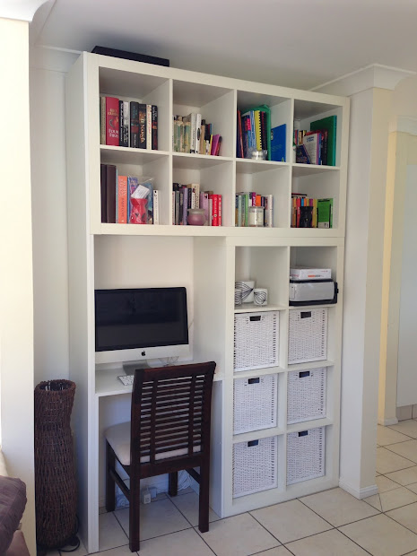 IKEA Wall Units with Desk