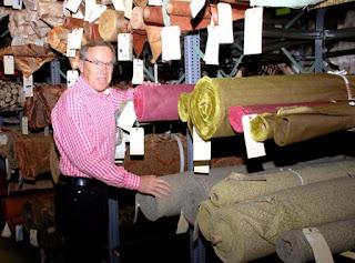 Todd Mclellan, Wesco Fabrics, Dick Gentry, fabric, custom window coverings