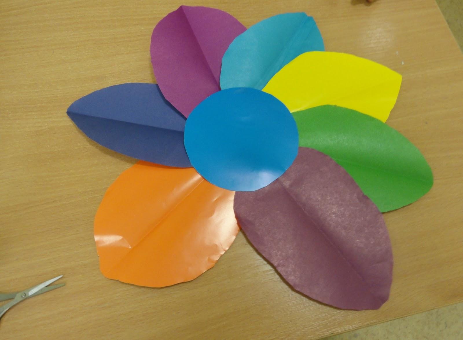 «Цветик-семицветик». Мастер-класс по изготовлению цветка из 81
