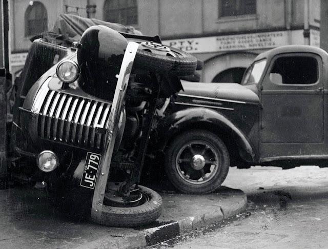 Los primeros accidentes de autos principios del siglo xx