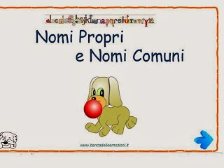 http://www.bancadelleemozioni.it/flash/morfologia/nomi01.html