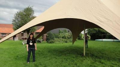 La tente pour les ados de la colo musique et cinéma Rock The Casbah