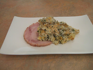 Ham with Cauliflower Casserole