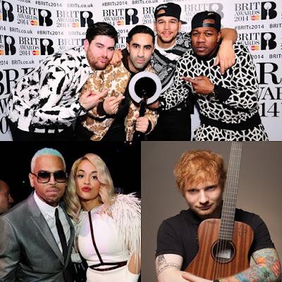 Rudimental hizo un cover de Rita Ora, Chris Brown y Ed Sheeran
