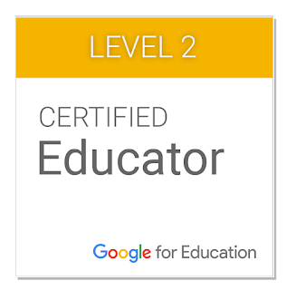 Level 2 Certified Google Educator