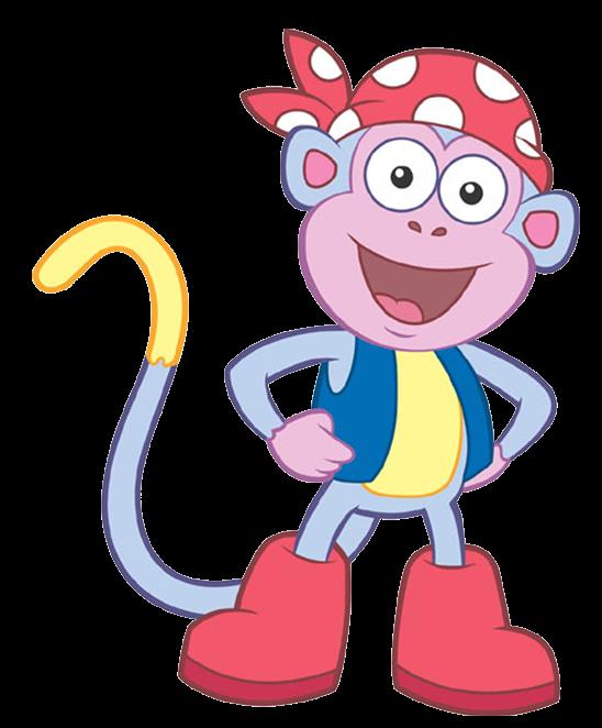 Cartoon Characters: Dora the Explorer (PNG)