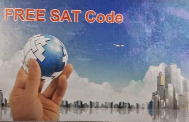 FREE SAT CODE NOVO CARD DO FREESKY VOYAGER HD  - 16/01/2015