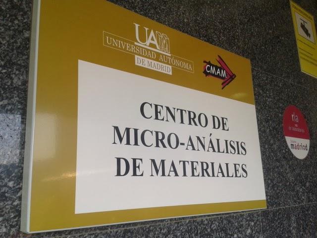 Centro de Microanálisis de Materiales de la Universidad Autónoma de Madrid