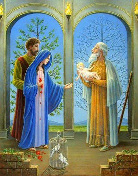 Presentazione del Signore dans immagini sacre the-presentation-of-our-lord-in-the-temple