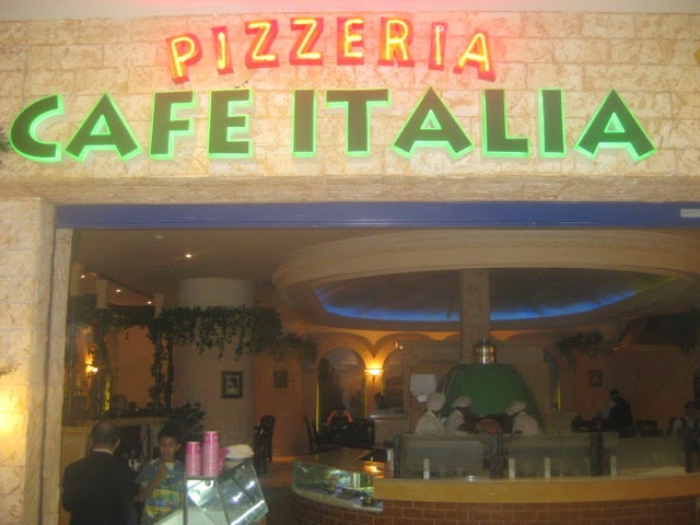 Pizzeria Cafe Italia Bahrain Menu