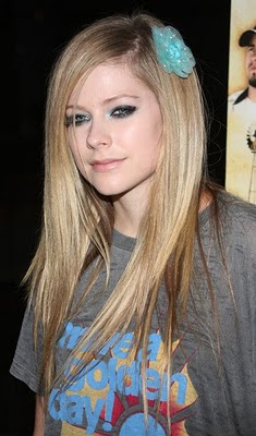 avril lavigne hairstyles guys