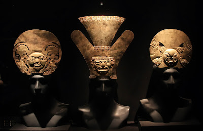 Gold Headdresses Moche, Florescent Epoch (1 AD - 800 AD)