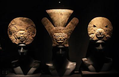 Gold Headdresses Moche, Florescent Epoch (1 AD - 800 AD)