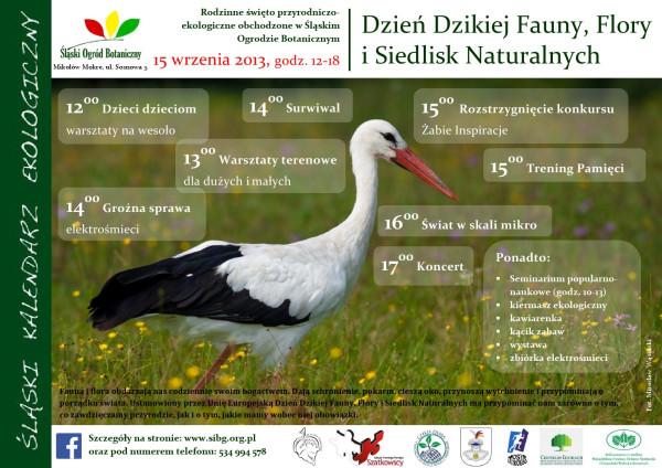 Dzień Dzikiej Fauny, Flory i Siedlisk Naturalnych