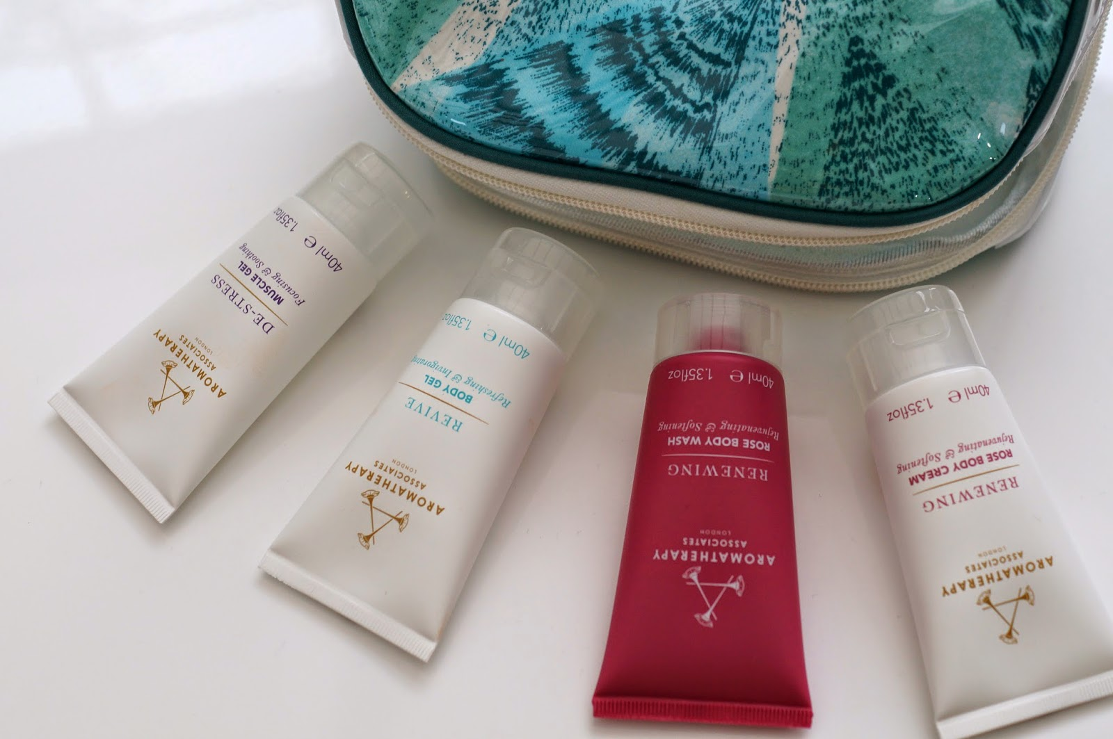 beauty bag aromatherapy associates