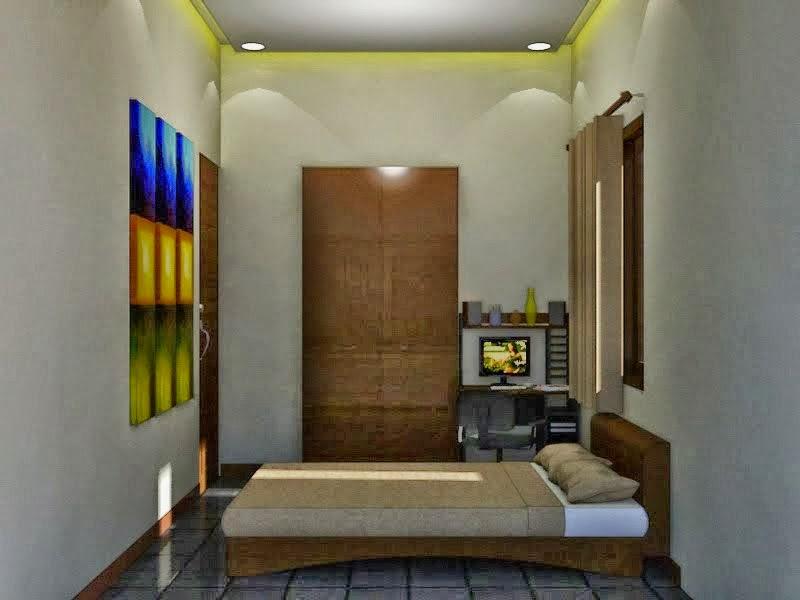 desain kamar tidur utama sederhana