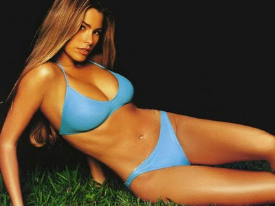 sofia vergara wallpaper. SOFIA VERGARA Cleavage